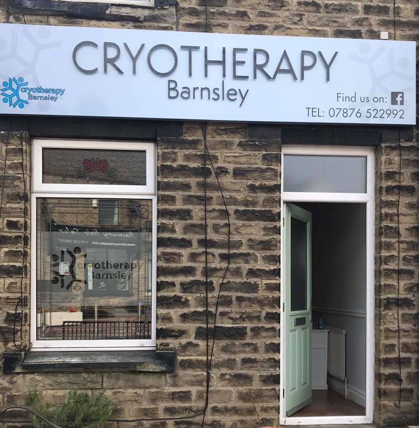 Cryotherapy Barnsley sign
